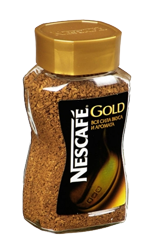 "Растворимый кофе ""Nescafe Gold"" 190 гр. (стекло)"